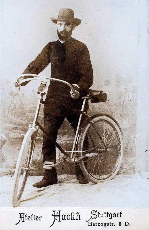 Роберт Бош основатель компании Bosch. 1890г.