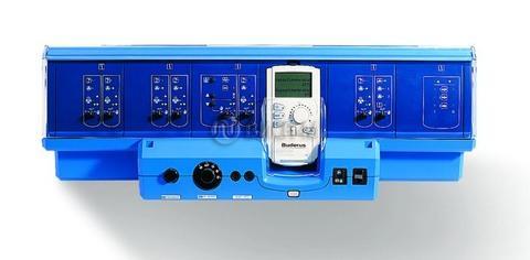 Система управления для напольных котлов средней и большой мощности. Базовая система с пультом MEC2 Buderus Logamatic 4321 с пультом MEC2