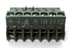 Клемма 7-контактная BR, зеленая