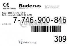Модуль управления каскадом котлов. Buderus MCM10. Арт. 7746900846