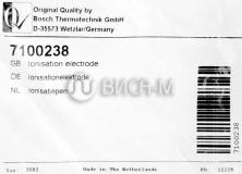 Электрод ионизации котлов GB022/112/162